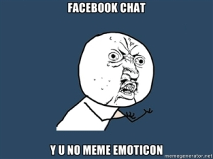 memes on facebook chat